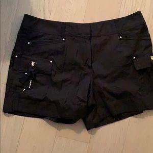 White House Black Market Tie front shorts
